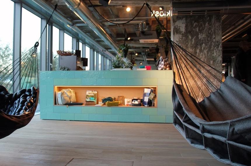 'Gestalten Kiosk' und Hängematten von 'Bless Design' zum Seele baumeln lassen