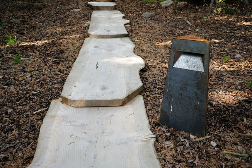 Der Weg (zum Wald-Spa) ist das Ziel