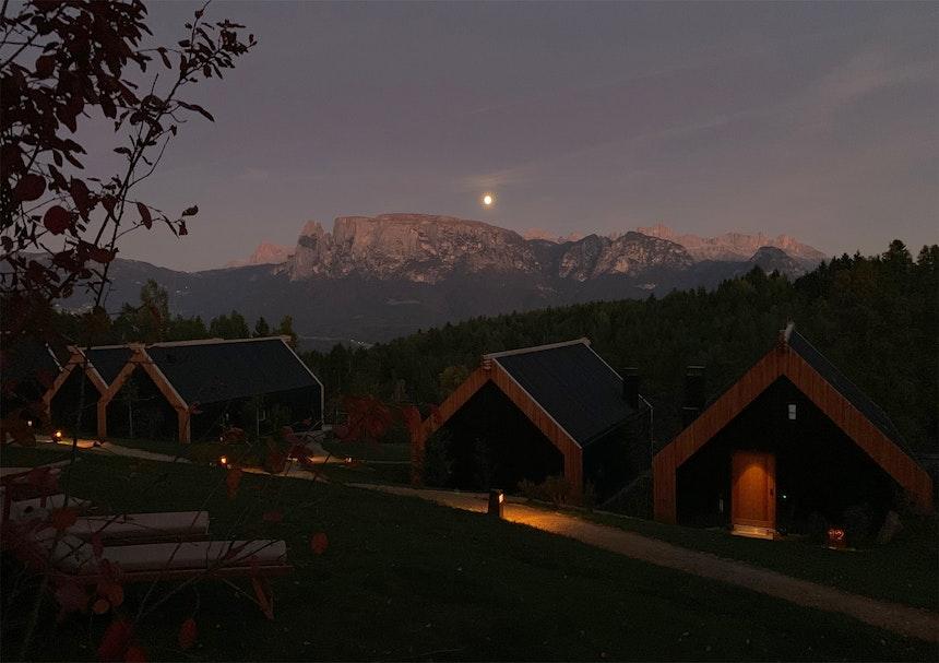 Vollmondnacht in der ADLER Lodge RITTEN