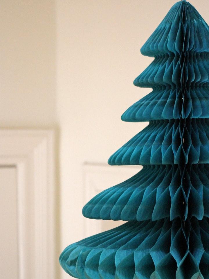 Papierweihnachtsbaum 6