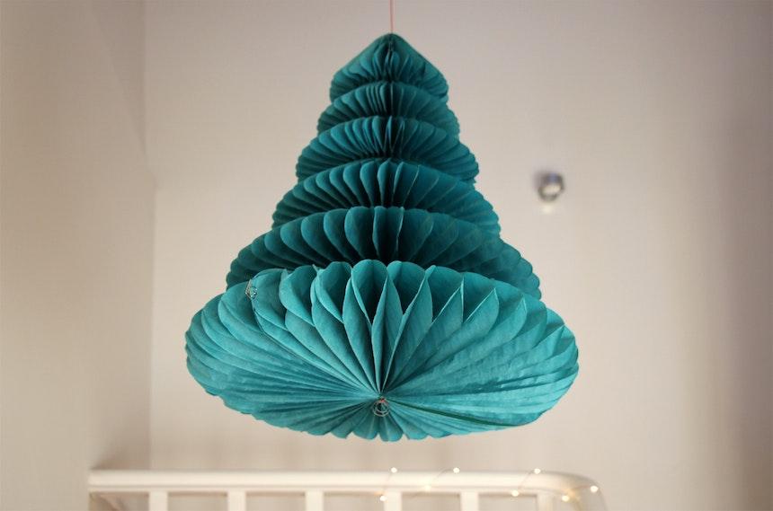 Papierweihnachtsbaum