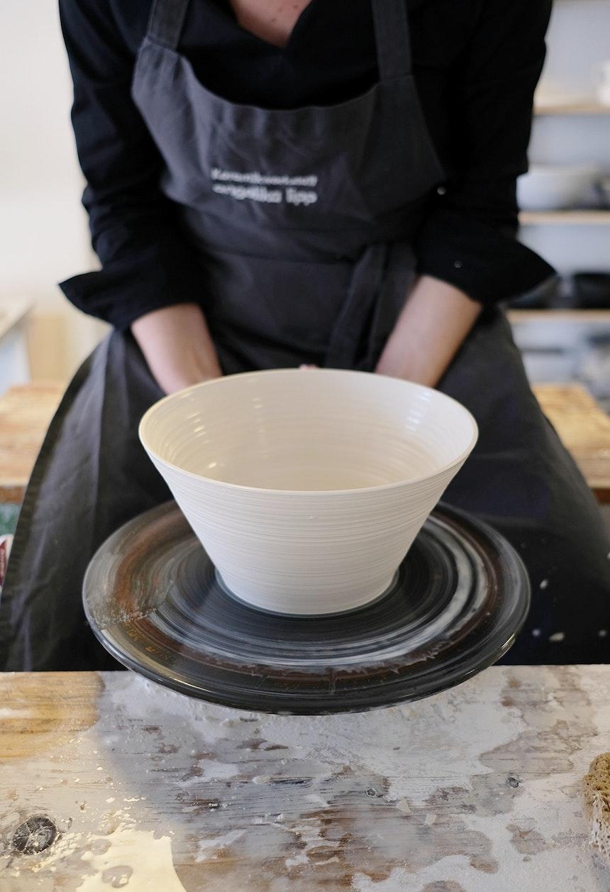 Mit viel Gefühl und Sinn für Ästhetik erschafft Angelika Lipp Lieblingsstücke für den täglichen Gebrauch