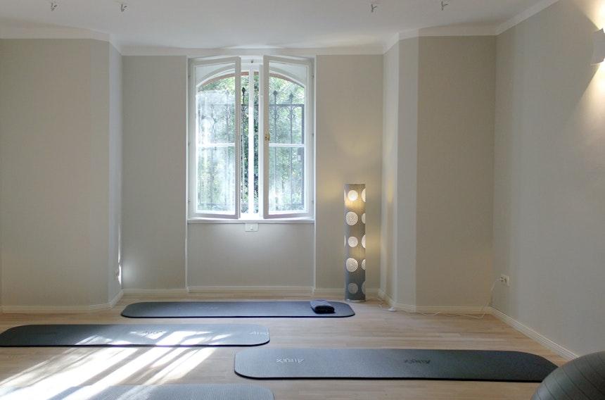 Das Pilates-Studio am Morgen