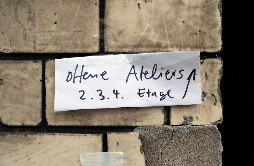 Tag der offenen Tür im Atelierhaus in der Schulstraße 35