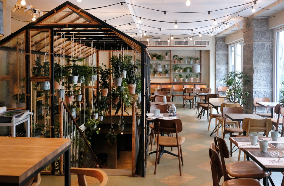 Frühstücksraum und Restaurant »VÄKST«, Hotel SP34