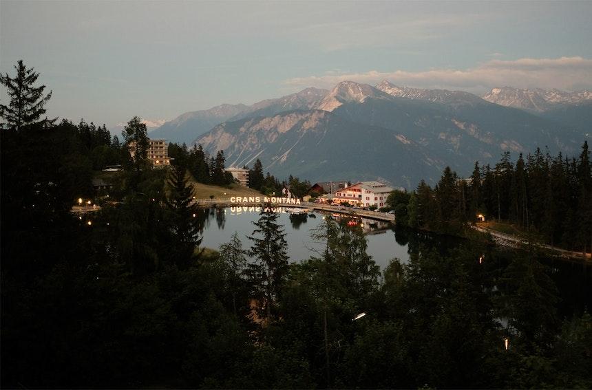Und still ruht der See und Crans-Montana