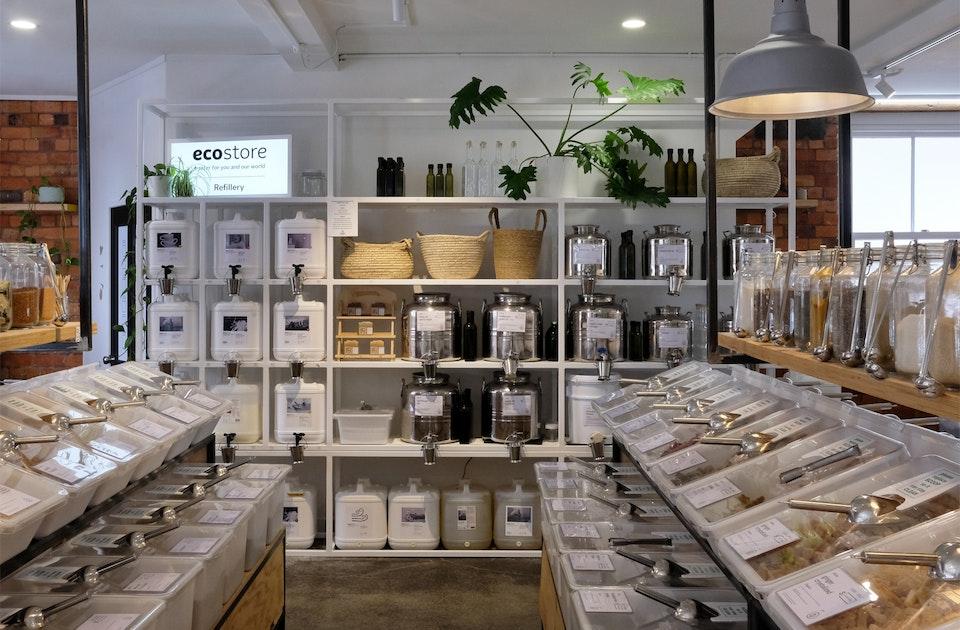 Schönes Shopdesign, coole Präsentation: Goodfor Shop Ponsonby – Vollwertkost ohne Verpackung