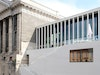 James-Simon-Galerie (David Chipperfield Architects) und Pergamonmuseum – Ansicht vom Kupfergraben