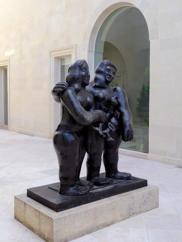 »Les Deux Soeurs«, Bronze, Fernand Léger
