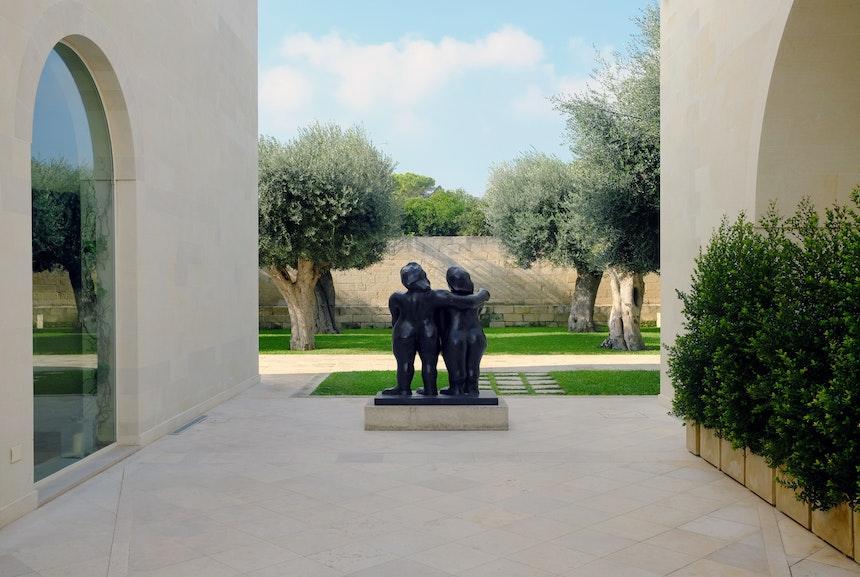 Skulptur »Les Deux Seurs«, Bronze, Fernand Léger