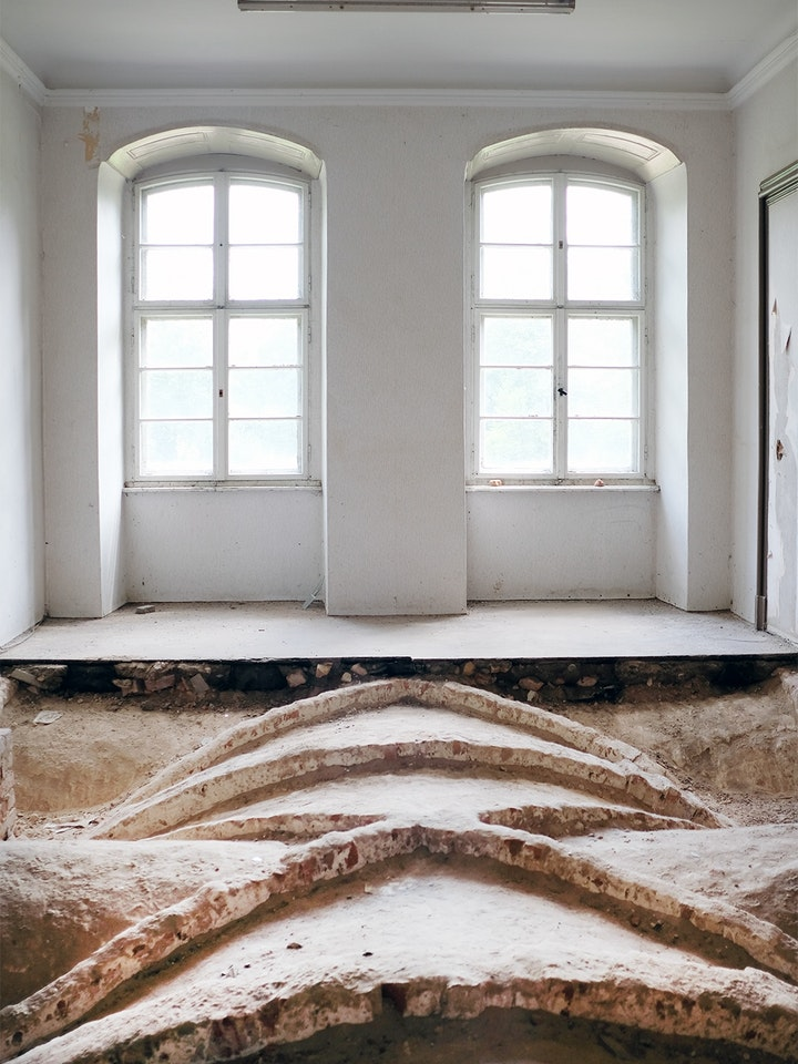 Schloss Lieberose Rohkunstbau 14