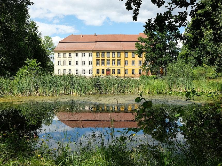 Schloss Lieberose Rohkunstbau