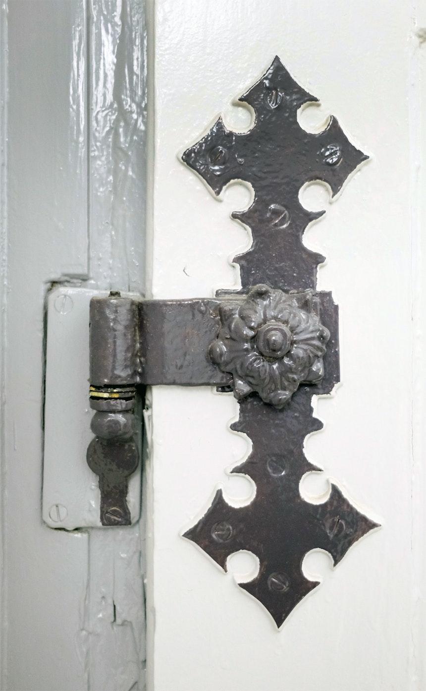 Detail im Manufakturgebäude