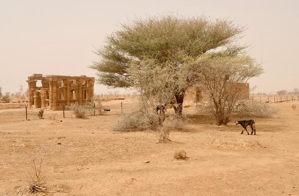Hathorkapelle – Früher »römischer Kiosk« genannt