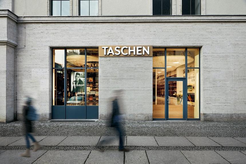 TASCHEN Store Berlin, Foto: Mark Seelen