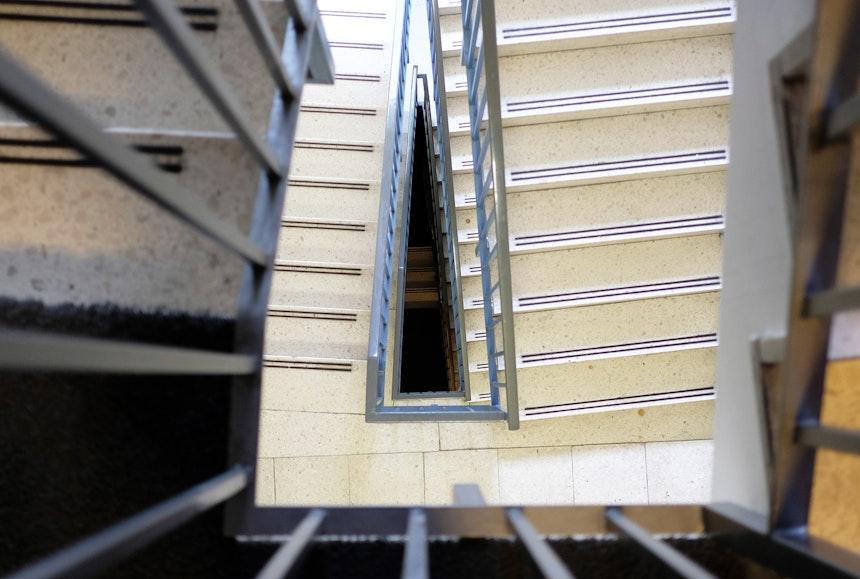 Treppenhaus-Architektur