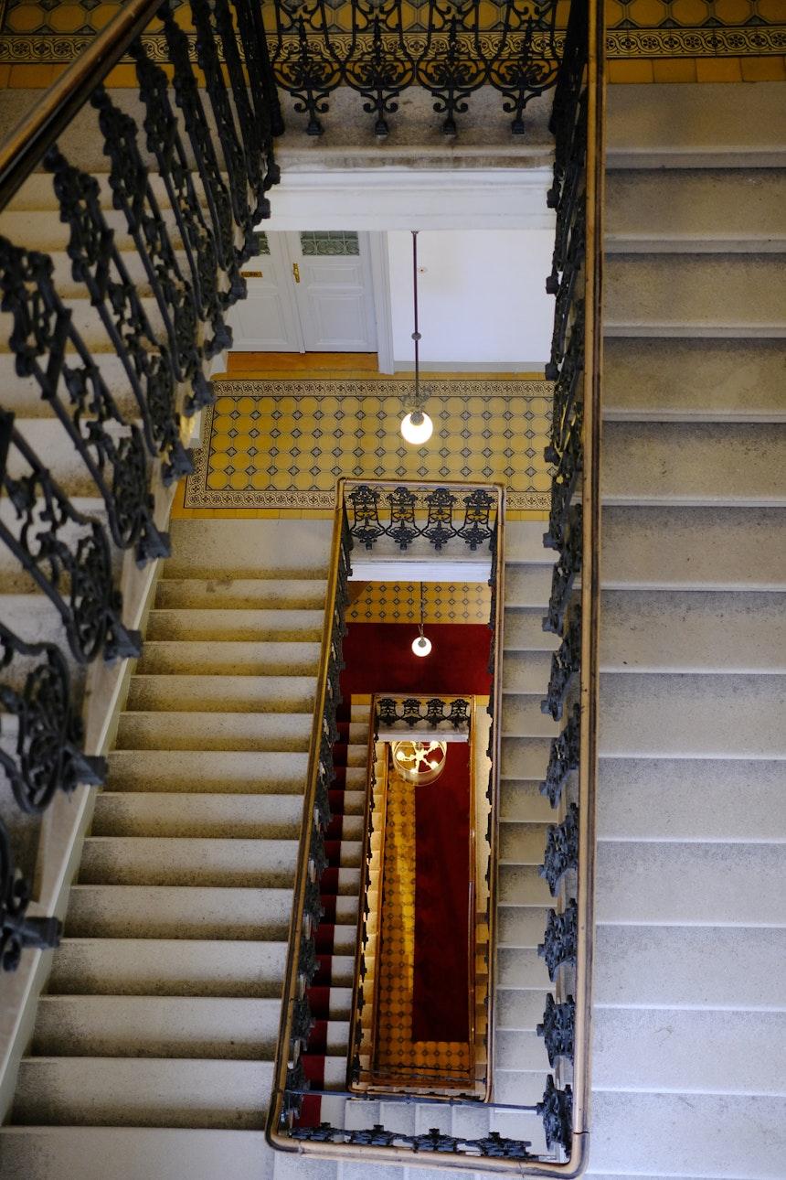 Beeindruckend – Das »Stiegenhaus«