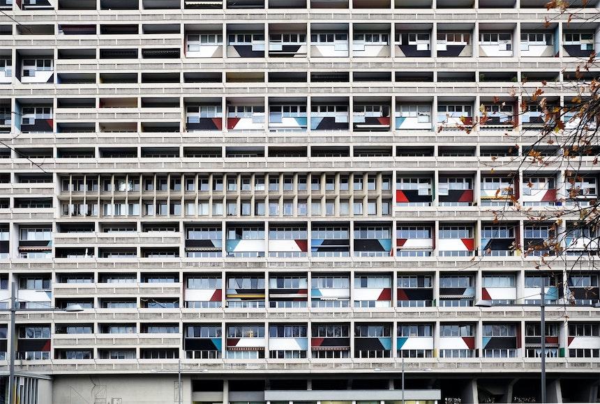 Unité d' habitation Typ Berlin – Das Corbusierhaus im Berliner Westend