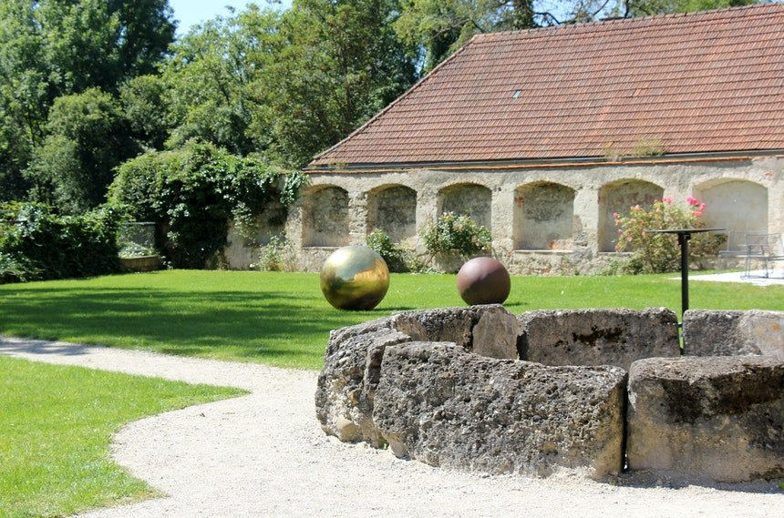 Kunst im Klostergarten