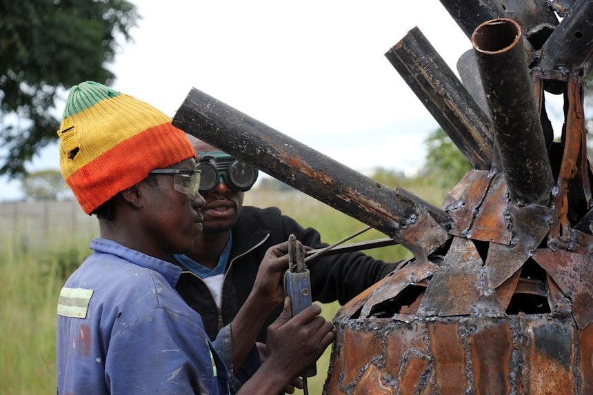 Artist Oneday Manhango Harare Simbabwe 12