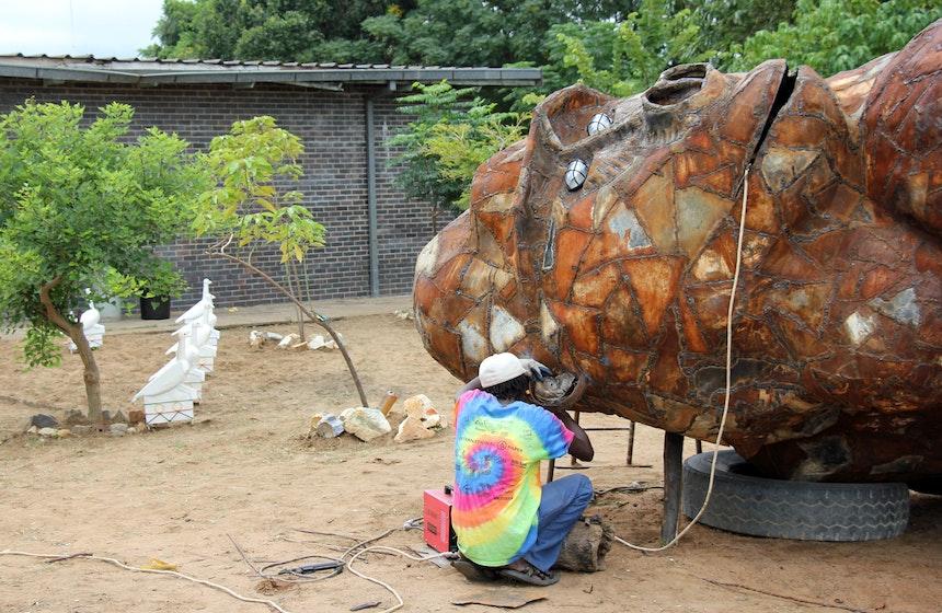 Artist Oneday Manhango Harare Simbabwe 7