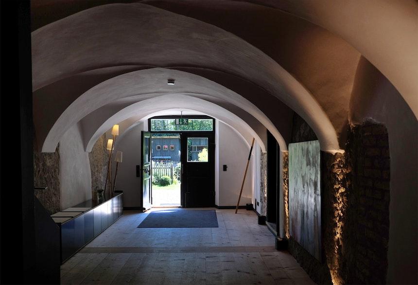 Traditionell – Eingangsbereich mit Kappendecken