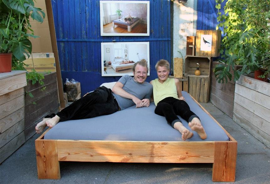 Hochflieger Upcycling Betten