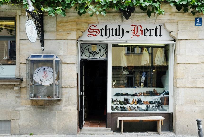 Ein Unikat – Schuh-Bertl im Münchner Gärtnerplatzviertel