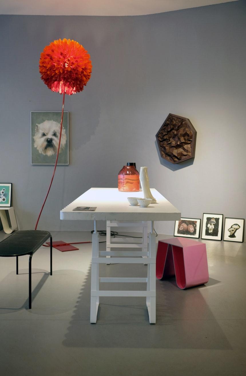 Bank, Roll Collection, Design Verena Hennig, Glasdesign Milena Kling