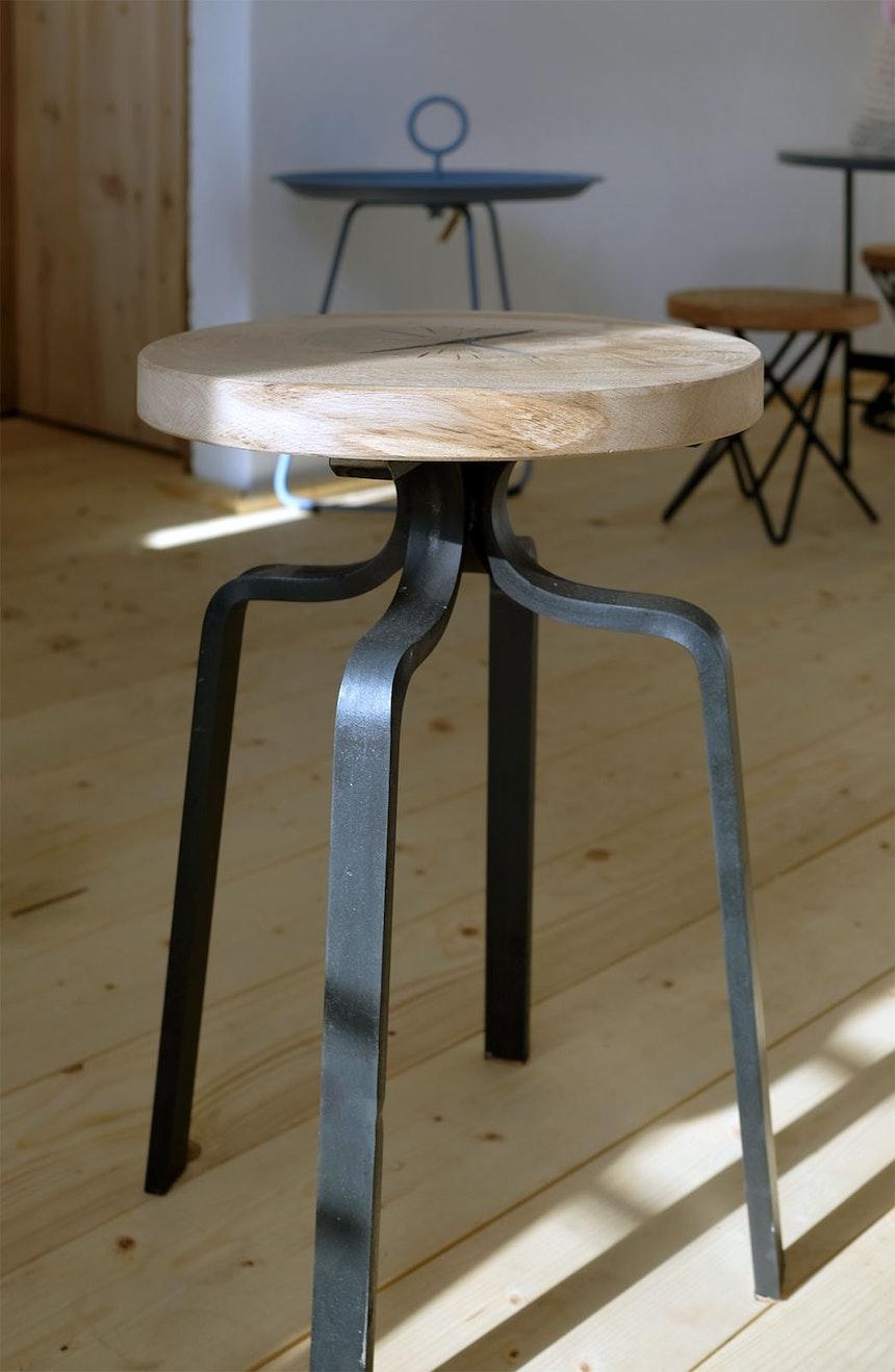 Hocker made by Artmetall