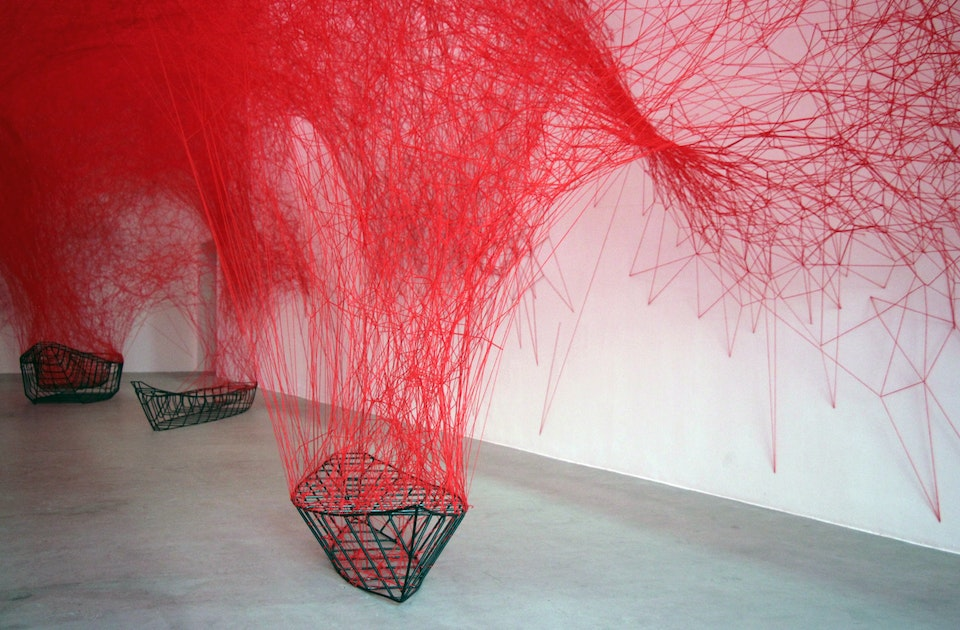Chiharu Shiota Uncertain Journey At Blain Southern 1