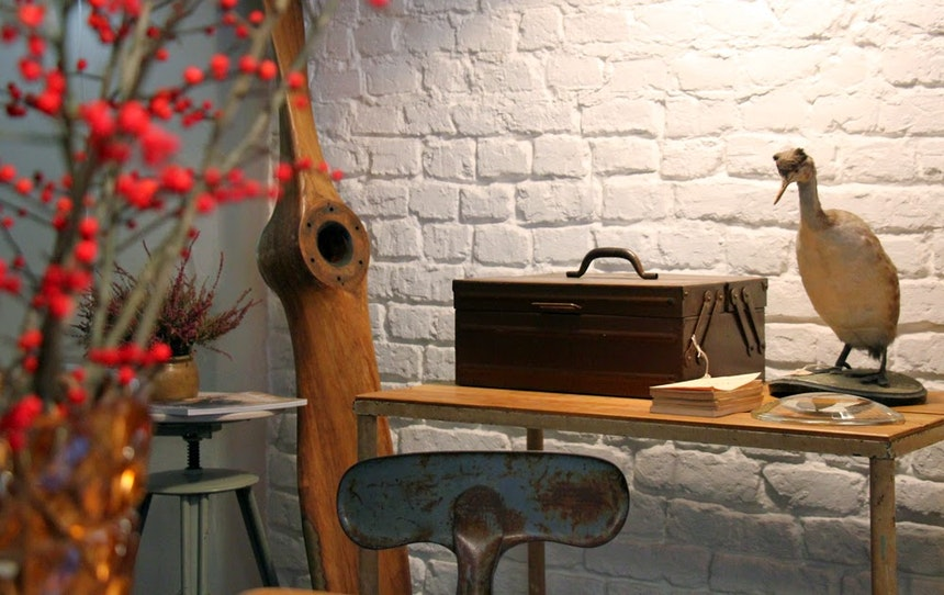 Christmas At J V Finest Vintage Industrial Furniture 12