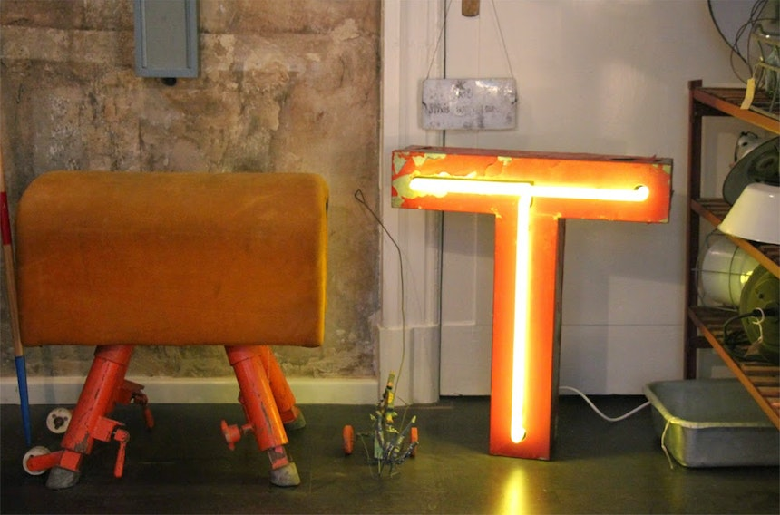 Christmas At J V Finest Vintage Industrial Furniture 5