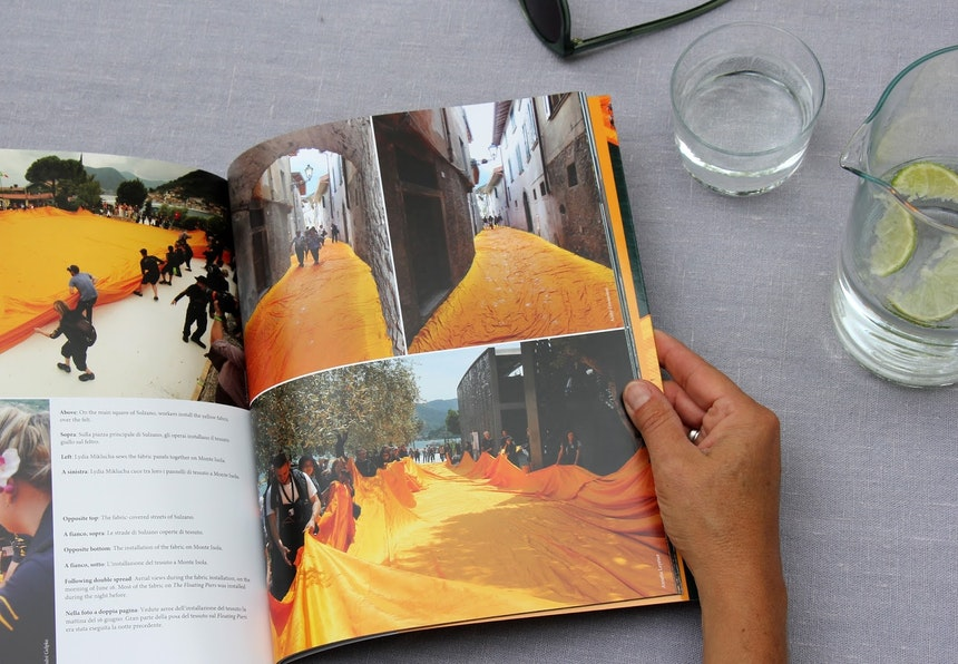 Christo And Jeanne Claude The Floating Piers By Taschen 12