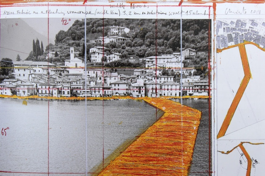 Collage 2014, Ausschnitt (aus dem Buch abfotografiert)
