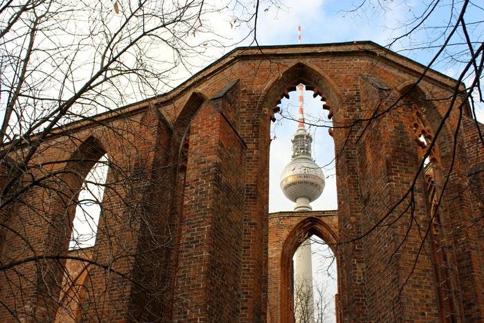 Die Franziskaner Klosterkirche Berlin Mitte 1