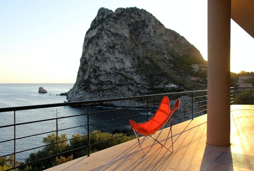 Capo Zafferano bei Sonnenaufgang