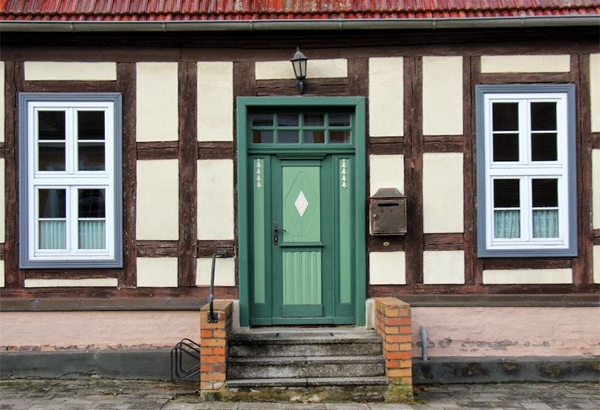 Fassade in Boitzenburg