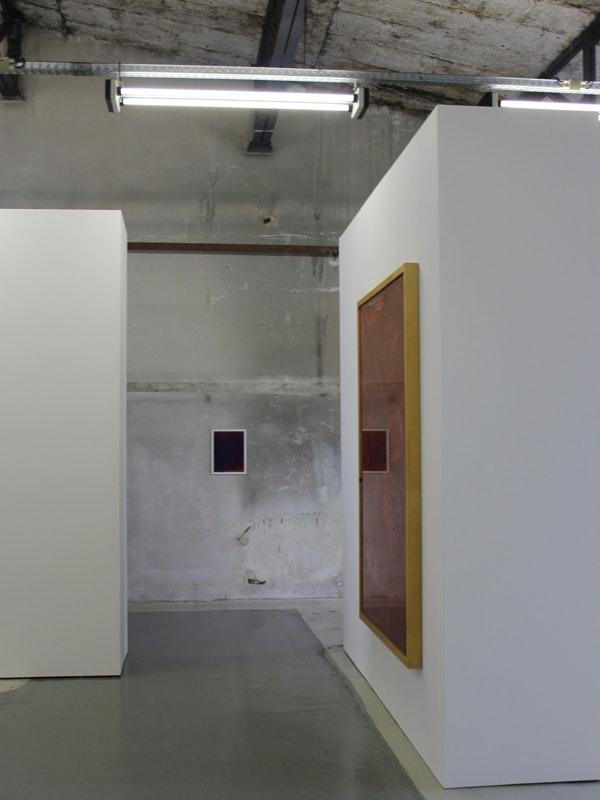 Acryl auf Acrylglas/Imi Knoebel