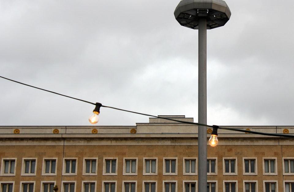 Flughafen Berlin Tempelhof Ein Rundgang 1