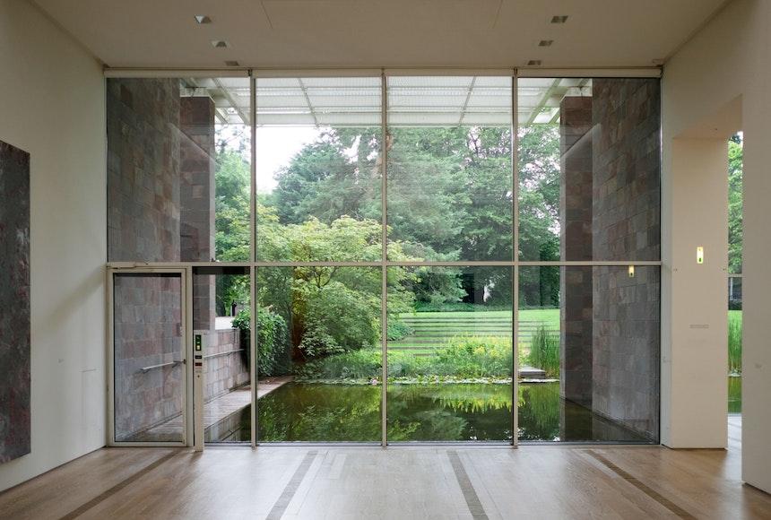 Innen, Außen, natürliches Licht, Natur, Kunst und meisterhafte Architektur