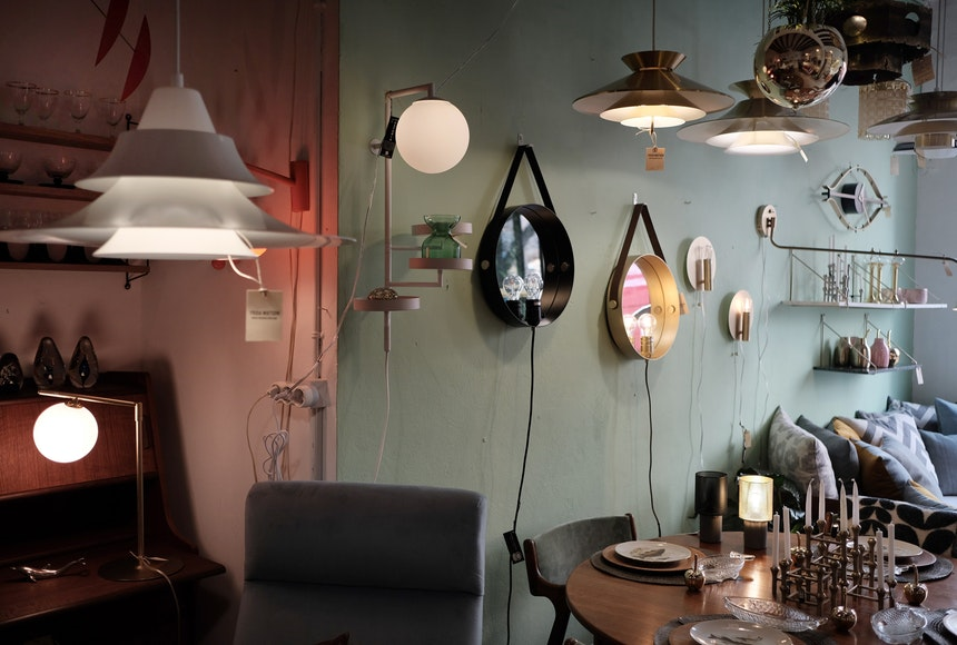 Lampen & Spiegel aus Skandinavien