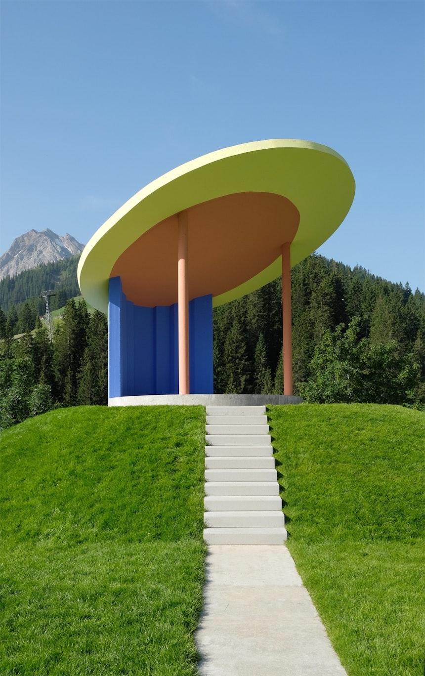 Der Musik-Pavillon wird für Konzerte und Veranstaltungen genutzt