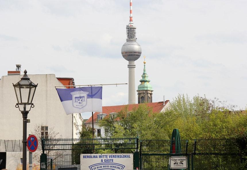 Gallery Weekend meets Fußball @ Kleine Hamburger Straße