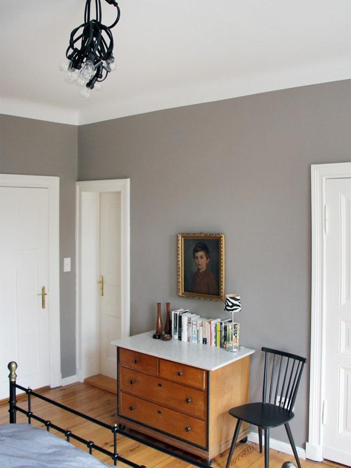 Improvisiert Biergartenlichterkette Im Schlafzimmer 4