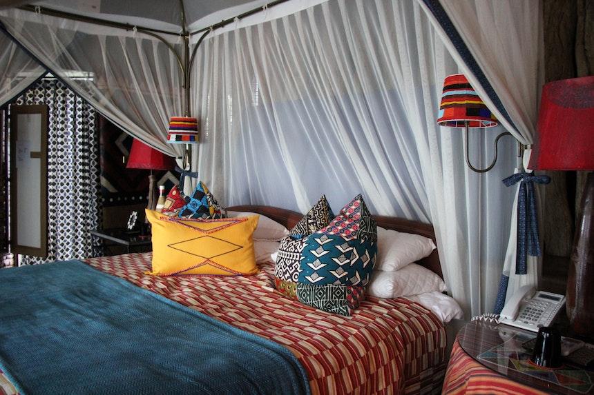 Interior Design African Colours Patterns Fabrics 1