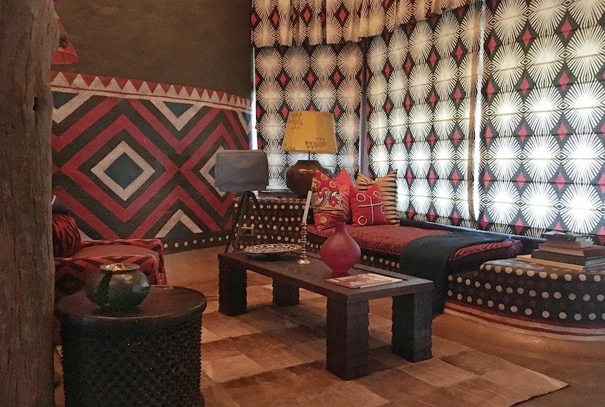 Interior Design African Colours Patterns Fabrics 2