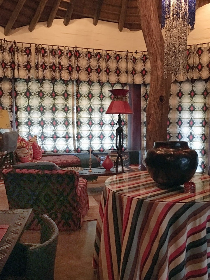Interior Design African Colours Patterns Fabrics 3