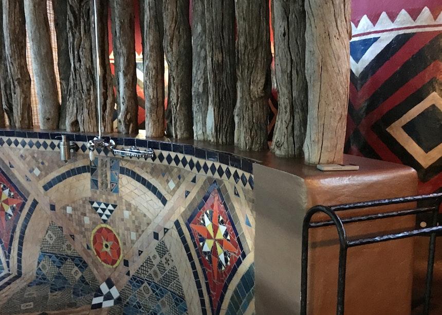 Interior Design African Colours Patterns Fabrics 4