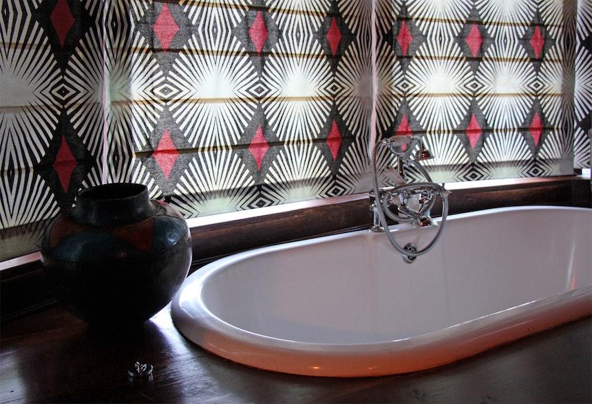 Interior Design African Colours Patterns Fabrics 6